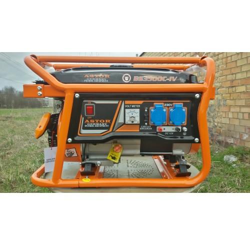 "Benzininis elektros generatorius ""Astor""3,0KW"